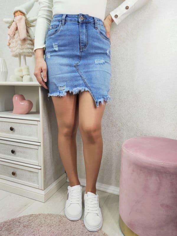 Suknja od trapera-Dina-Koala shop