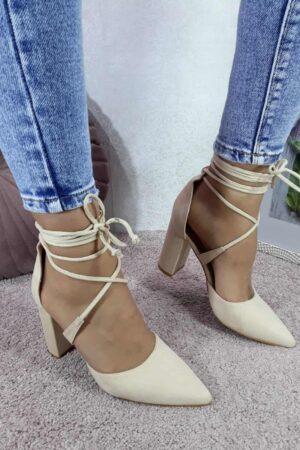 Cipele na vezanje oko noge-Koala shop