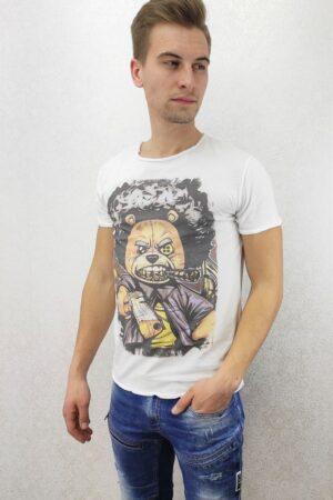 Majica Teddy with gun-pamučna-Koala Shop