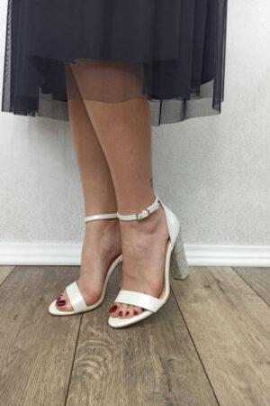 sandale sonny sa šljokicama na peti-Koala shop