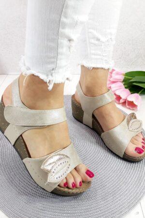 Sandale sa ukrasnim listom-Koala shop