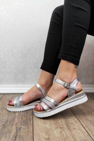 sandale rosana niske sa remenima-Koala shop