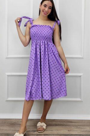 haljina basy na točkice-Koala shop
