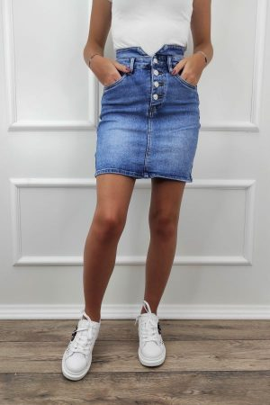 suknja s gumbima-Koala shop